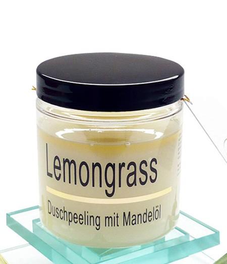Lemongras-Mandelöl-Peeling