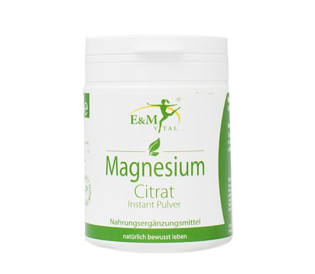 Magnesium Citrat Pulver