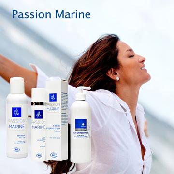 Meereskosmetik Passion Marine, maritime Naturkosmetik - Leidenschaft für die wohltuende Kraft des Meeres