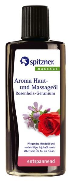 Aroma-Öl Rosenholz-Geranium, entspannend