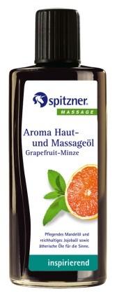 Aroma-Öl Grapefruit-Minze, inspirierend