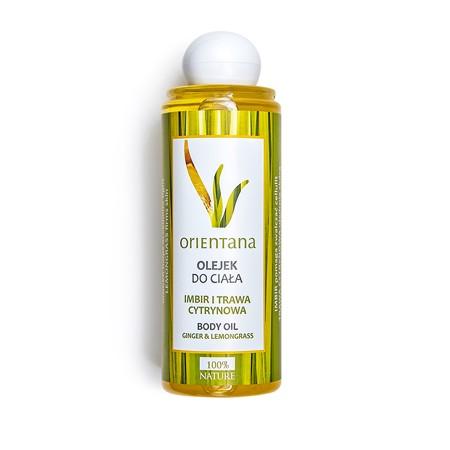 Cellulite-Öl Ingwer-Lemongrass