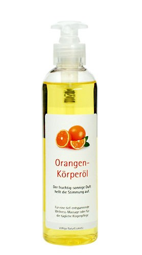 Orangen-Massageöl