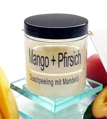 Mango-Pfirsich Mandelöl-Peeling