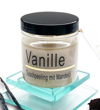 Vanille-Mandelöl-Peeling