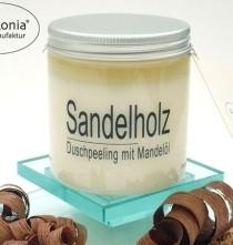 Sandelholz-Peelingsalz