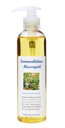 Sommerblüten-Massageöl
