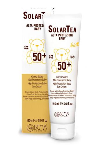 SolarTea Sonnencreme Baby SPF 50, Bio