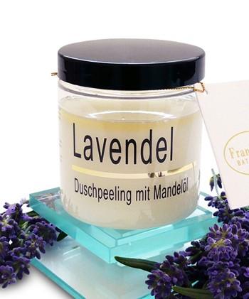 Lavendel-Mandelöl-Peeling