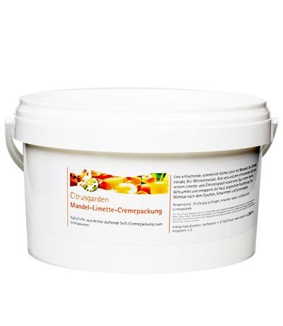 Mandel-Limette-Cremepackung