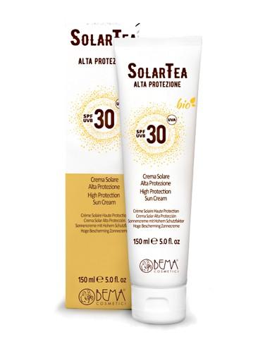SolarTea Sonnencreme Körper SPF30, Bio