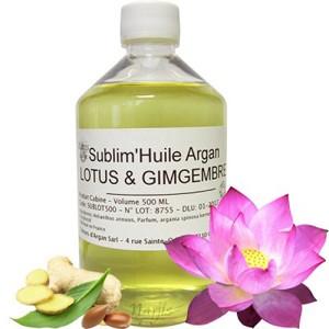 Argan-Lotus-Ingwer-Öl