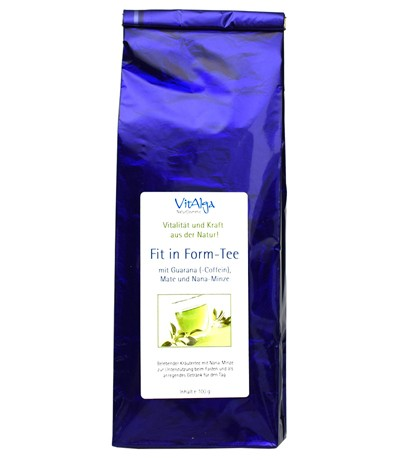 Fit in Form-Tee mit Guarana-Coffein